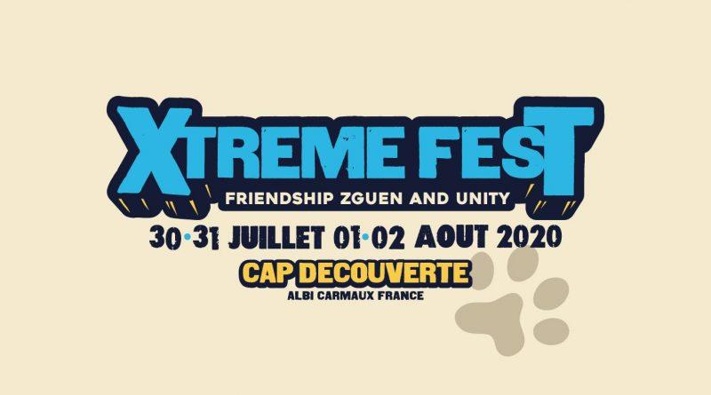 Xtreme Fest #8 : du 30 juillet au 2 août 2020 – 100 pass promo disponibles jeudi 17 octobre !